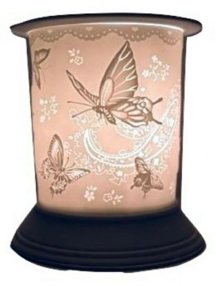 Cello Silk Wings Porcelain Straight Electric Wax Burner / Warmer